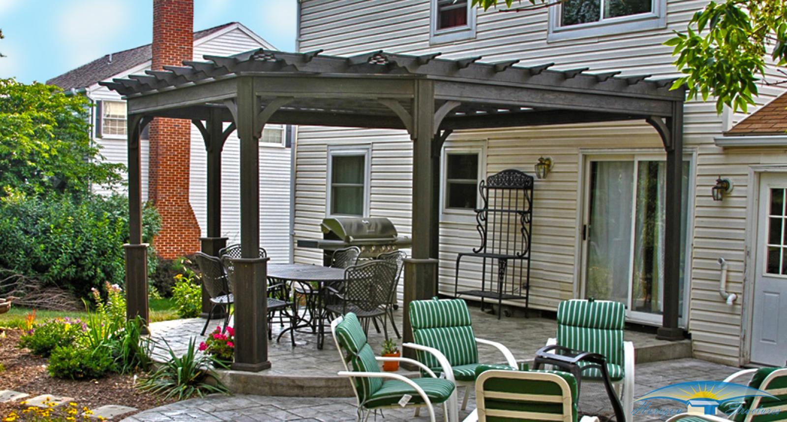 outdoor-living-pergola-custom-corner-wood-traditional
