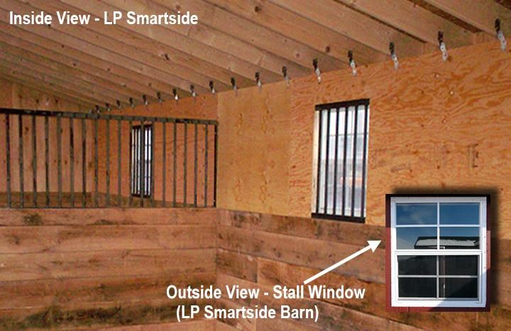 Inside Smartside Stall