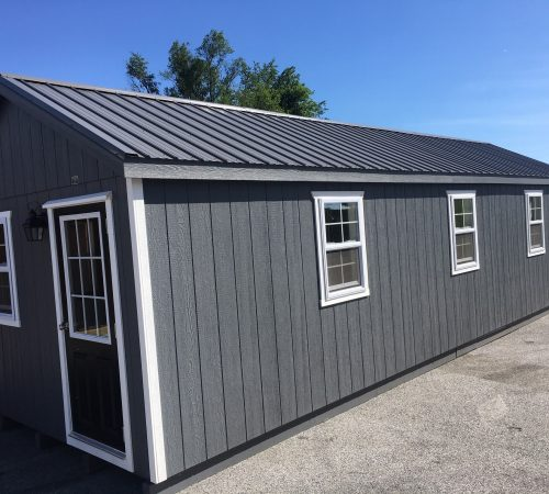 12x32 Kennel Exterior Back