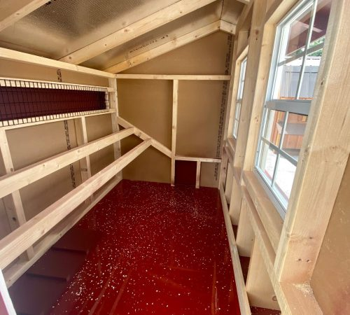 4x6 interior red