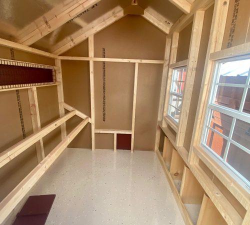 5x6 Quaker interior