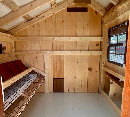 6x10 interior coop