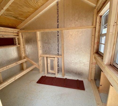 6x10 red interior